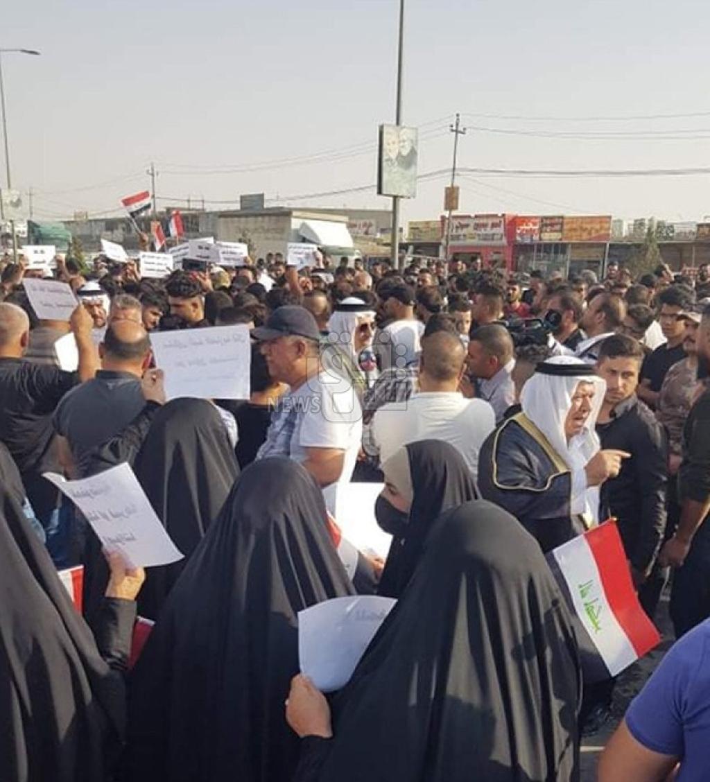 أنصار مرشحة خاسرة لتحالف الفتح يقطعون طريق الموصل - أربيل