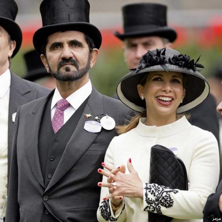 بدء معركة قضائية وتسوية مالية ضخمة بين الأميرة هيا وزوجها حاكم دبي