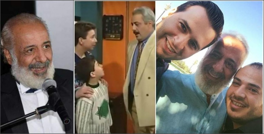 "بعدد 22 عاماً أيمن زيدان يجتمع مجدداً مع طفلي ""جميل وهناء"""