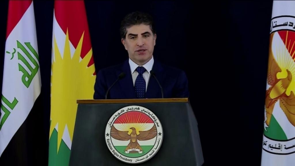 نيجيرفان بارزاني: ندعم جهود القيادات العراقية لمنع تكرار الهجمات على البعثات الدبلوماسية وقواعد التحالف الدولي