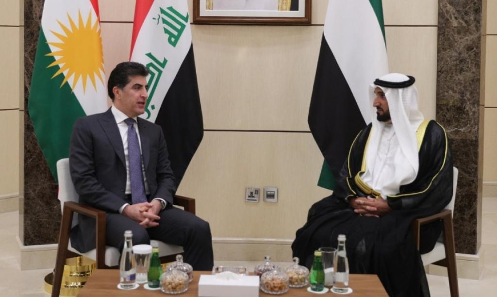 نيجيرفان البارزاني يصل إلى الإمارات في زيارة رسمية