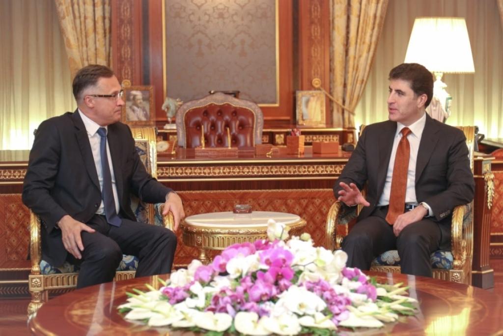 رغبة بيلاروسية في تطوير العلاقات مع اقليم كوردستان