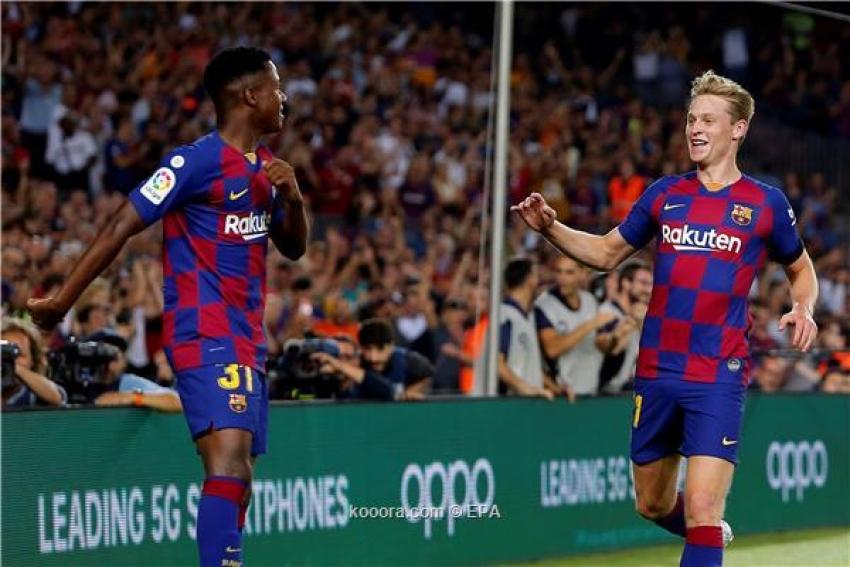 برشلونة يتحرك لتحصين فاتي