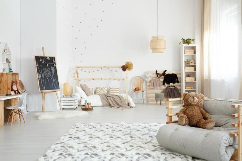غرف نوم اطفال بديكورات عصرية