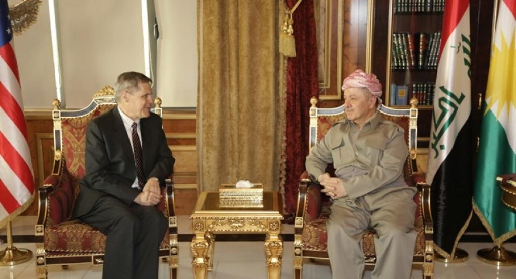 أمريكا تثمن دور الرئيس بارزاني في تقوية العلاقات بين أربيل وبغداد