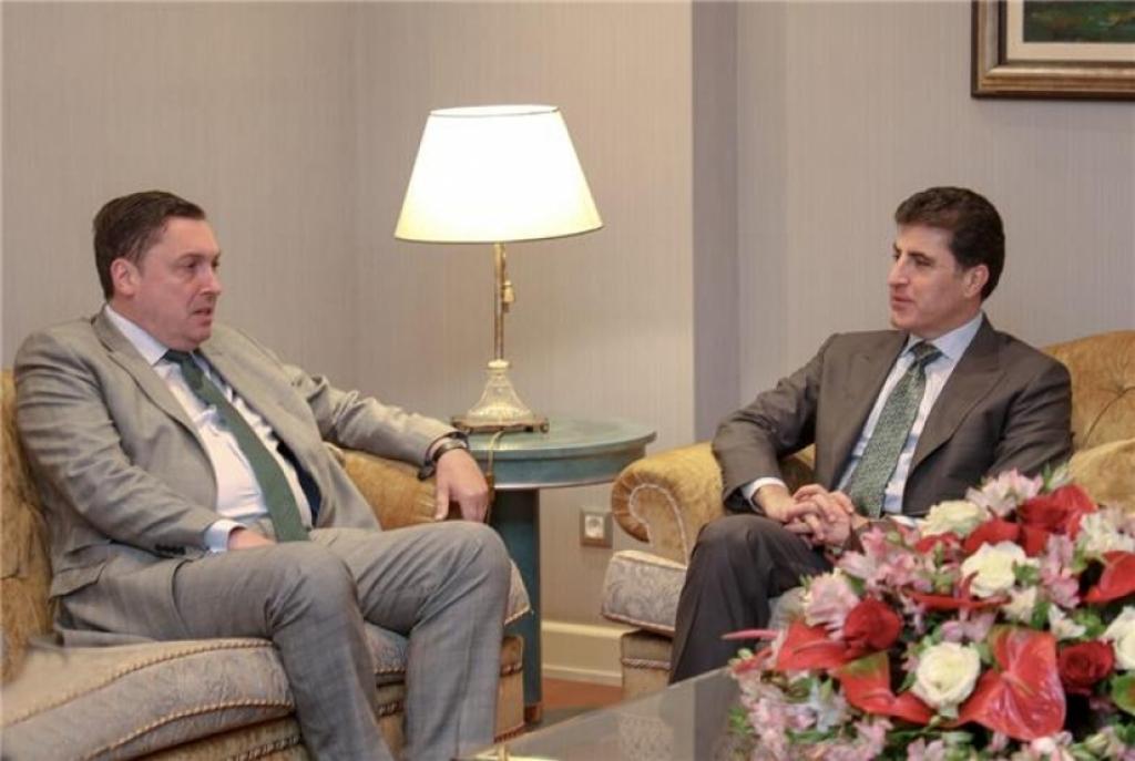 اقلیم كوردستان وبريطانيا تؤكدان أهمية الحوار للحفاظ على أمن واستقرار المنطقة