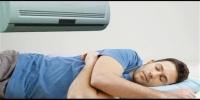 هذا ما يحدث للجسم عند النوم تحت المكيف