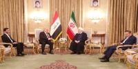 """روحاني وعبدالمهدي يبحثان """"نزع فتيل الأزمة الراهنة"""""""