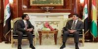 نيجيرفان بارزاني والحلبوسي يؤكدان على حماية الاستقرار السياسي والأمني في العراق